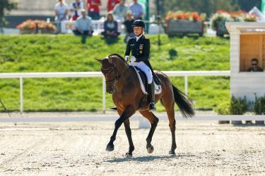 Klimke führt in Avenches